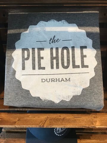 """The Pie Hole Durham"" T-shirt (grey)"