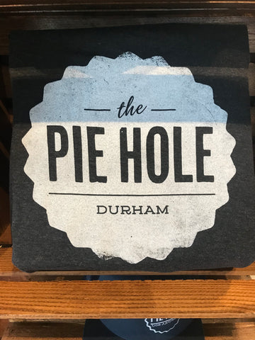 """The Pie Hole Durham"" T-shirt (dark grey)"