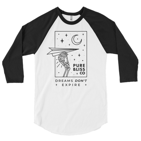 Dreams Don't Expire :: Baseball tee