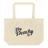 Stay Peachy Totes