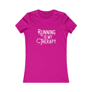 Running is My Therapy Women's T-shirt