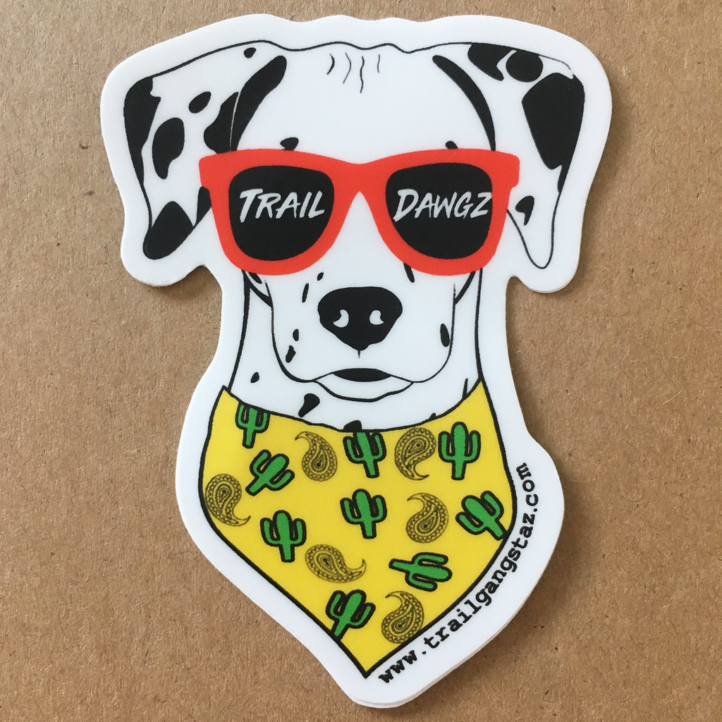 Trail Dawgz Sticker