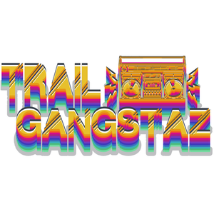 Trail GangstAZ Electric Boombox Hologram Sticker