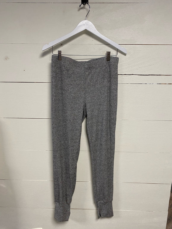 Ribbed Jogger Pant - Heather Grey