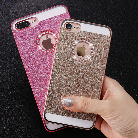 Shiny Powder Phone Case For iPhone