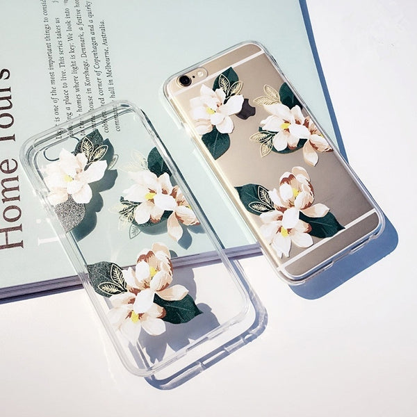 Flowers Phone Cases for iPhone and Samsung