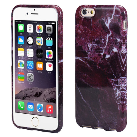 iPhone 6/6s Marble Texture Print Case