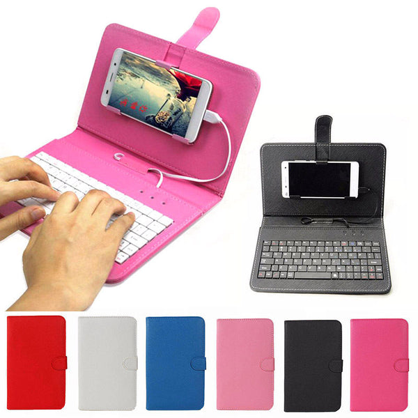 Universal Leather Case with Keyboard