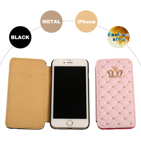 iPhone 6/6s Plus Luxury Crown Sweet Pink Case