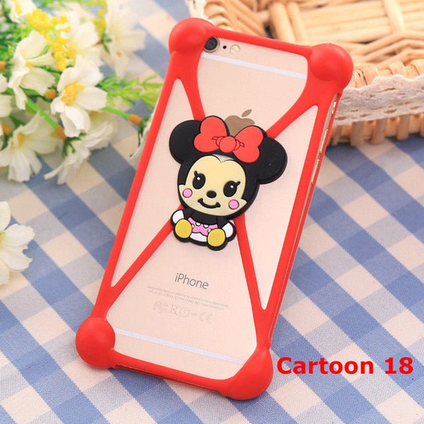 Universal Cartoon Character Bumber Case