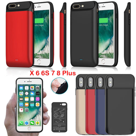 Power Bank Battery Charger Case For iphone 6 and higher
