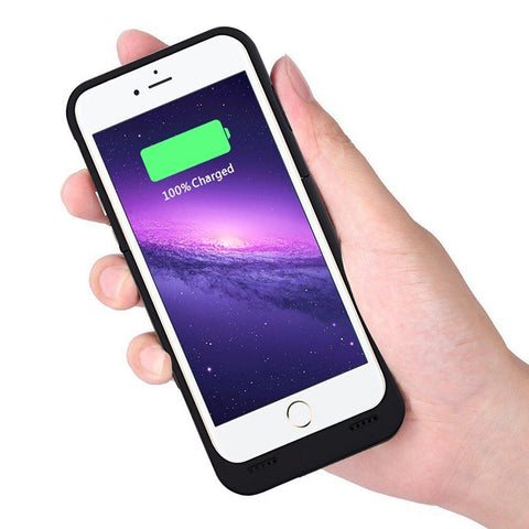 Ultra Thin Backup Powerbank Case for Apple iPhone 6 6s 7 8