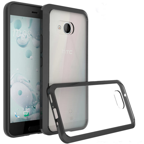 HTC U11 Transparent Armor Crystal Clear Cases