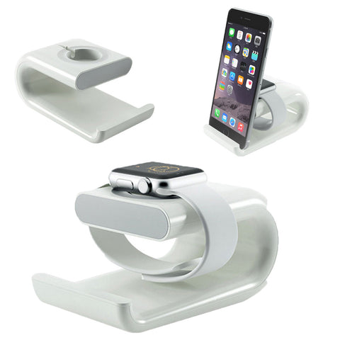 2-in-1 Charging Phone and Watch Holder Phone Accessories Organizer