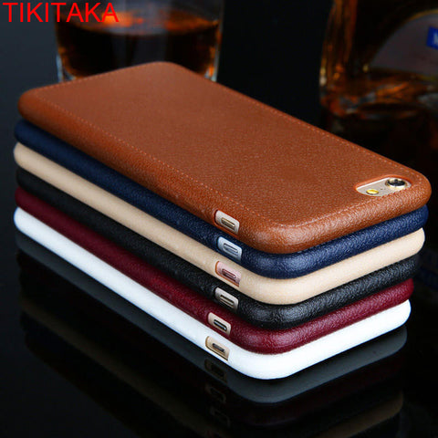 iPhone Leather Grain Case