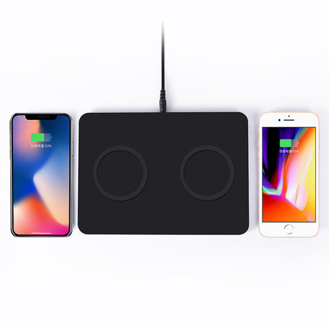 Dual Universal Wireless Charger Pad