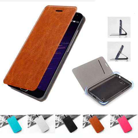 ASUS Zenfone Leather Wallet Flip Case With Card Slot