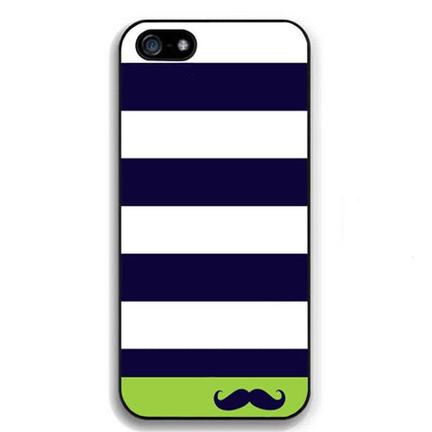 iPhone 5/5s Hot Navy Sailor Mustache Case
