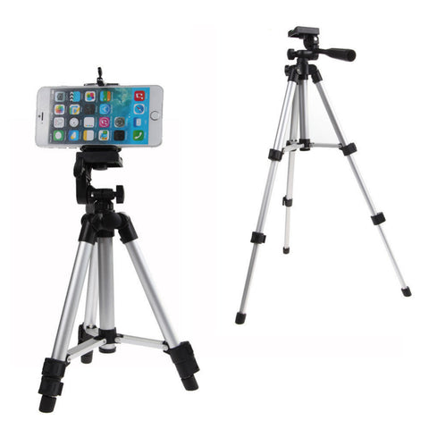 Professional 360 Degree Phone Holder Tripod Mount