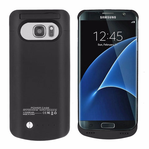 Samsung S7 Edge 5200mAh External Charger Case