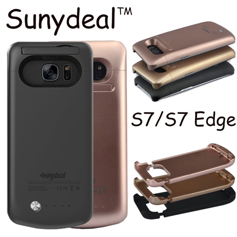 Samsung Galaxy S7 Edge Power Bank Charger Cases