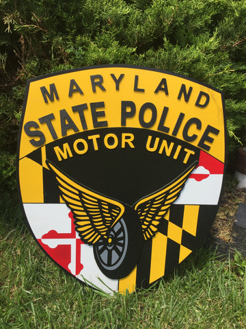 Maryland State Police Motor Unit Patch