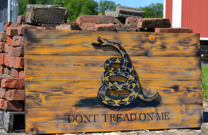 Don't Tread on Me - Torched Timber