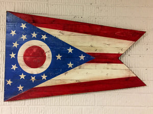 Ohio State Flag - Torched Timber