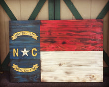 North Carolina State Flag - Torched Timber