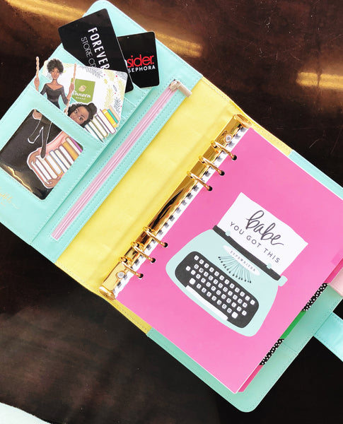Bad Planner bad from bow to toe planner keynote stationery collection