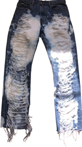 Risky shredded statement Jeans