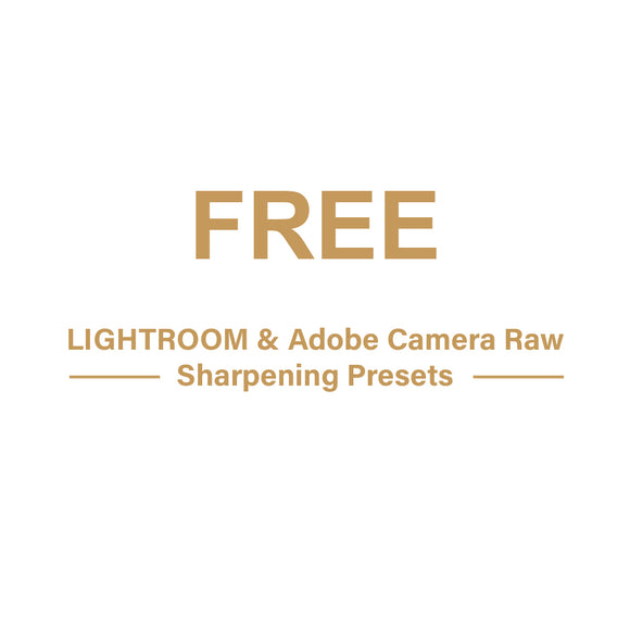 FREE Sharpening Presets bundle