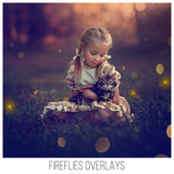 Fireflies Overlays and Summer Night Meadow PS Actions Set.