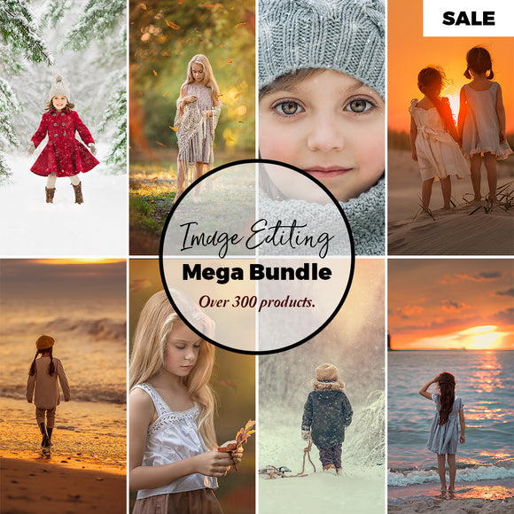Image Editing Mega Bundle • Over 200 Top Photography Editing Resources All In One Bundle!