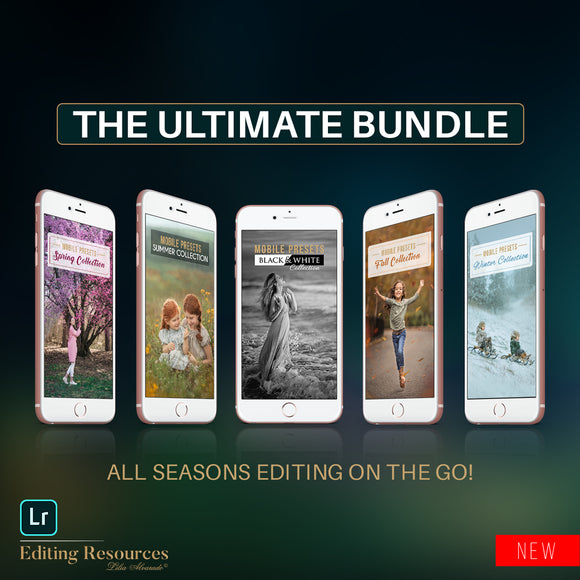 Lightroom Mobile Presets   |  THE ULTIMATE BUNDLE