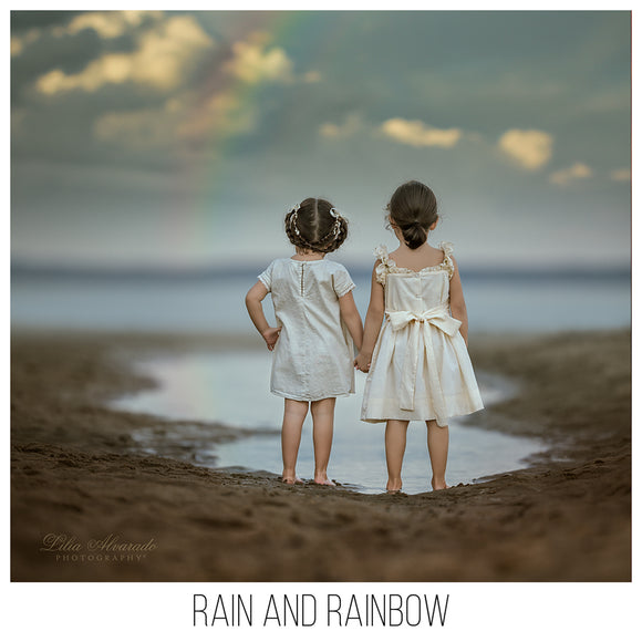 Rain & Rainbow Overlays
