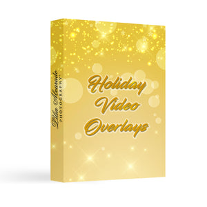 Holiday Video Overlays Bundle I No Tutorials