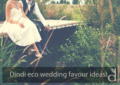 Dindi's green wedding guide : ideas for eco wedding favours