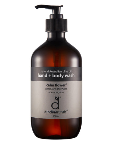 hand and body wash calm flower