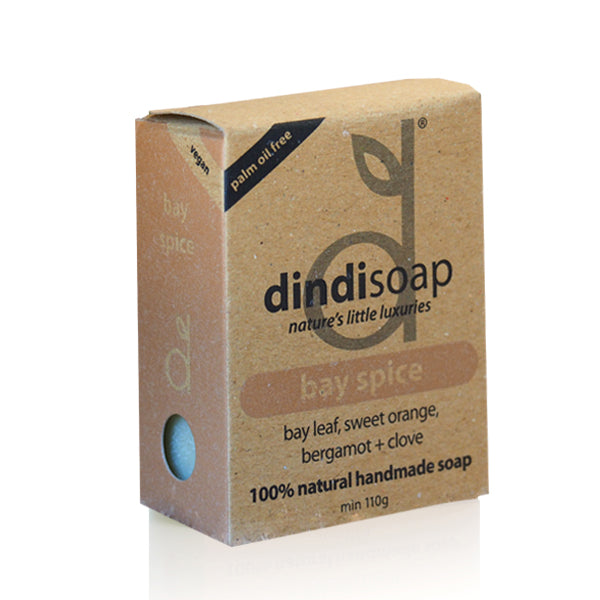 bay spice bar soap 110g - boxed