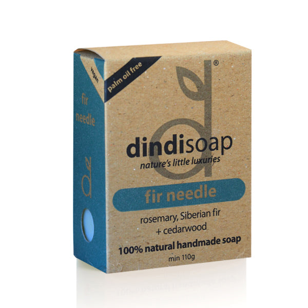 fir needle bar soap 110g  - boxed