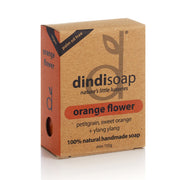 orange flower bar soap 110g - boxed