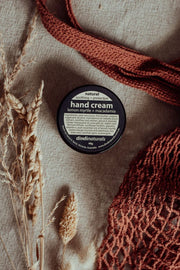 lemon myrtle + macadamia hand cream