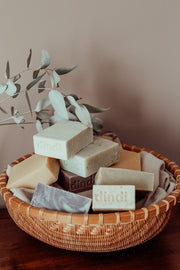 mint eucalyptus bar soap 110g - loose
