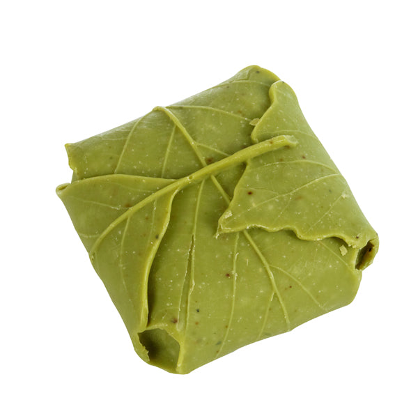 wrapped leaf soap