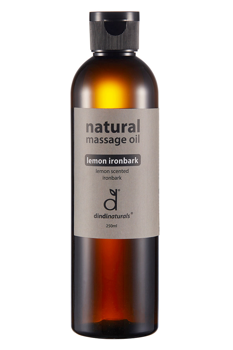 massage oil lemon ironbark
