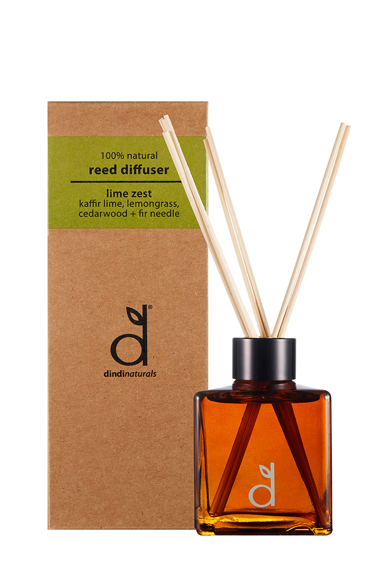 reed diffuser lime zest