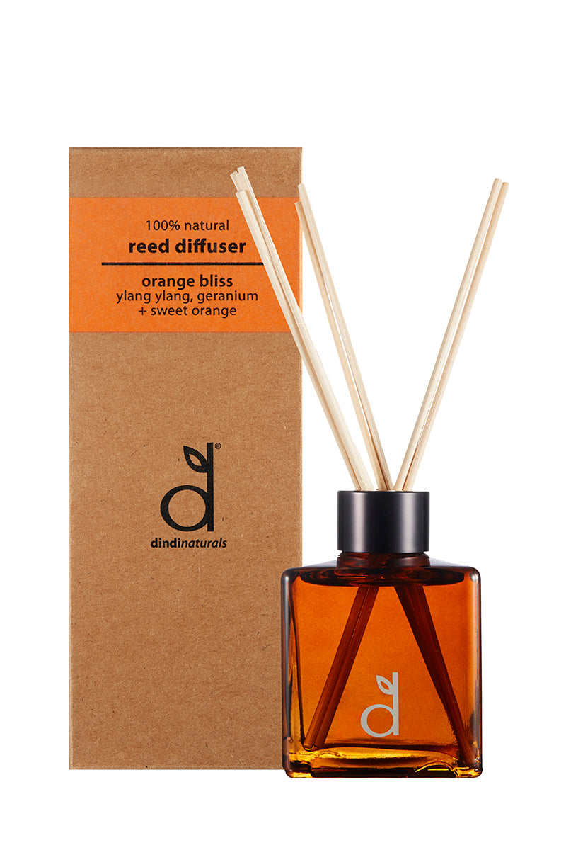 reed diffuser orange bliss