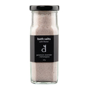 bath salts 220g glass jar