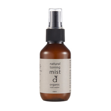 organic rose toning mist 100ml